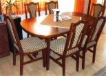 Étkező garnitúrák, székek