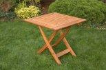 Fenyő 80x80 cm asztal