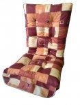 Terrakotta-mintás fotel párna