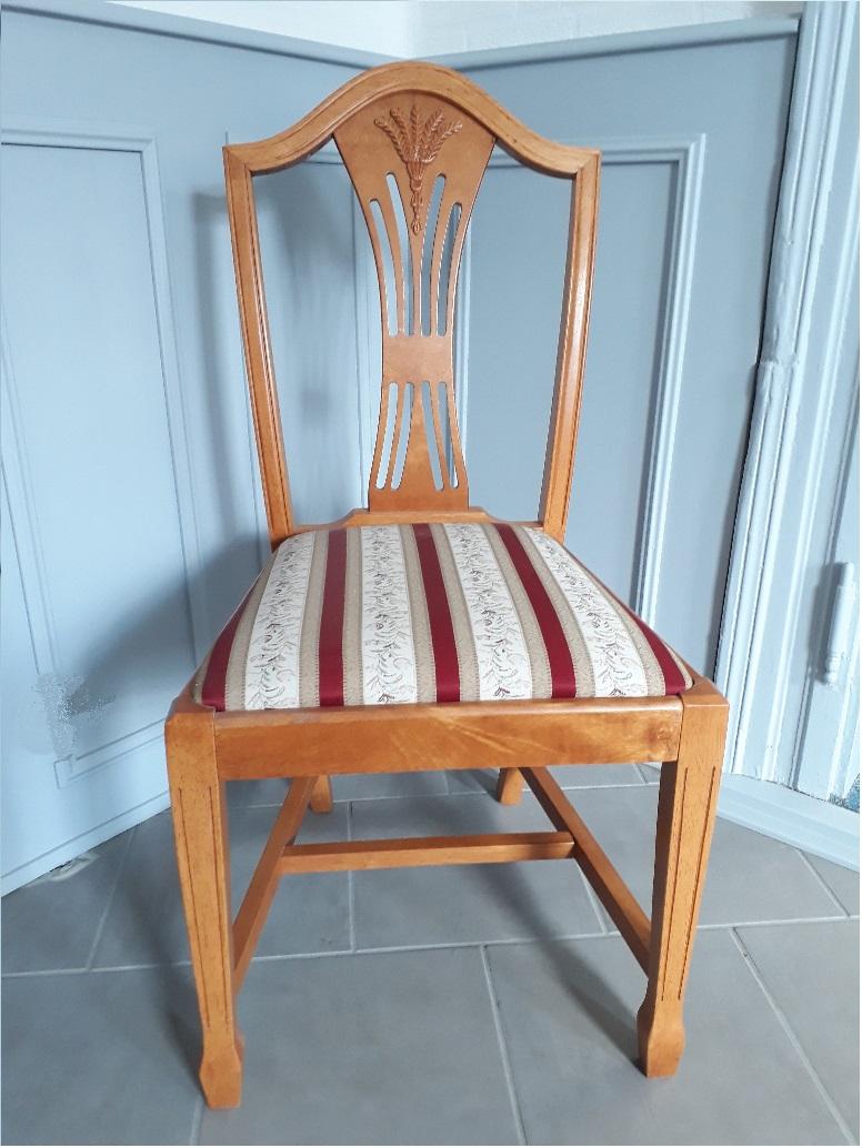Pácolt cseresznye szék